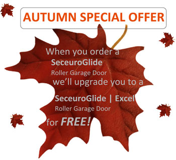 Autumn Garage Door Promotion