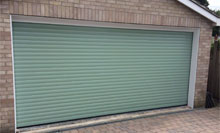 automatic double roller garage door